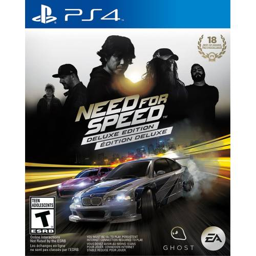 PS4 DISK NEED FOR SPEED